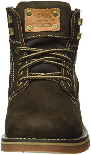 Dockers by Gerli 39wi004-110360, Zapatillas de Estar por Casa para Hombre Marrón (Schoko)