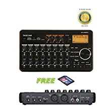 Tascam DP-008EX 8-Track Digital Recorder with a Free 32GB Patriot SD Card and 1 Year Free Extended Warranty