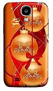 Samsung S4 Case Chirstmas Balls Abstract 3D Custom Samsung S4 Case Cover
