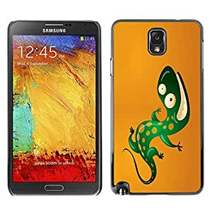 GagaDesign Phone Accessories: Hard Case Cover for Samsung Galaxy Note 3 - Cool Funny Lizard