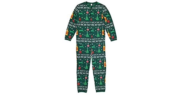 Christmas Cheer Mens Ugly Sweater Print One Piece Holiday Union Suit Pajamas at Amazon Mens Clothing store: