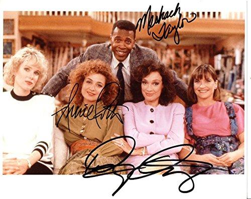 Meshach Taylor, Dixie Carter & Annie Potts Signed Autographed
