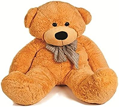 Ambey Enterprises New Stylish 3feet Brown Teddybear with bbeautiful Bow for Birthday Gift/Anniversary Gift/Valentine Gift/Special Gift for Girlfriend ( 3feet,91 cm, Brown)
