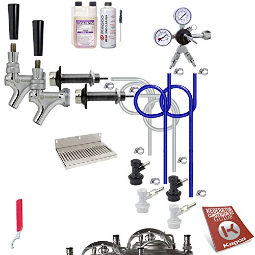stainless steel kegerator kit - 9