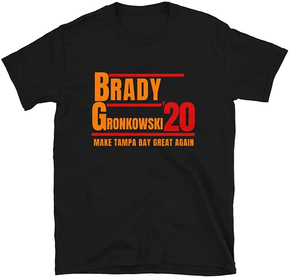 LiberTee Brady and Gronkowski 2020 Make Tampa Bay Great Again Unisex T-Shirt