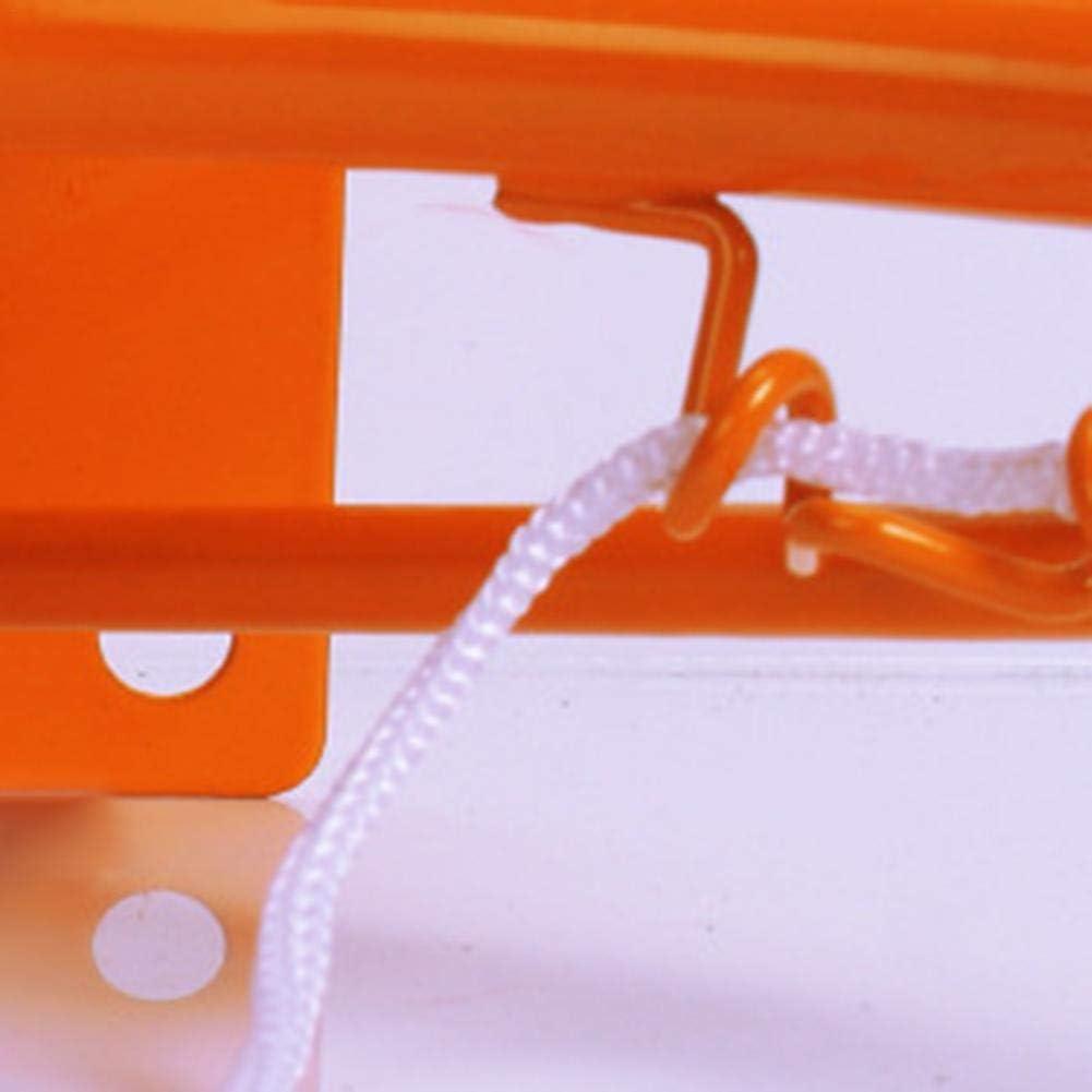 32 cm de Metal montado en la Pared Mini aro de Baloncesto Dormitorio port/átil Interior Deportes al Aire Libre Juguetes para ni/ños Juego de aro y Red de Baloncesto para ni/ños
