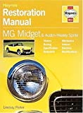 Mg Midget, Austin Healey and Sprite Restoration Manual, Lindsay Porter, 1859606148