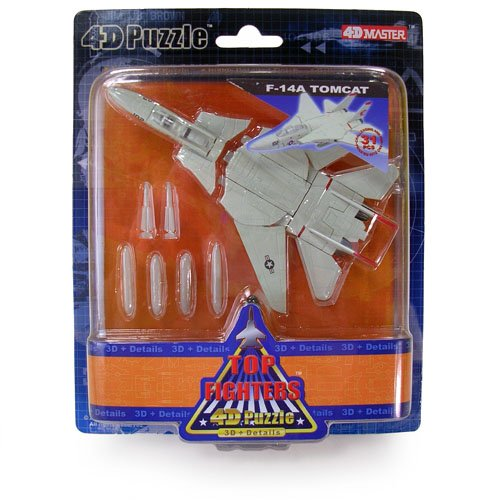 F-14a Tomcat Fighter - Top Jet Fighters 4d Puzzle - F-14A Tomcat (5