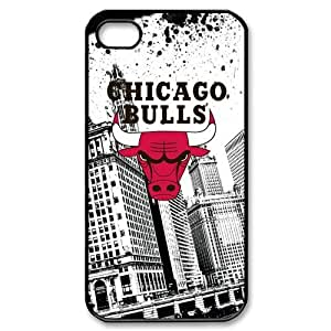 Custom Your Own NBA Chicago Bulls iPhone 4/4S Case , personalised Chicago Bulls Iphone 4 Cover