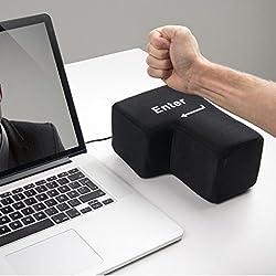 Enter Key Anti-stress Relief Creazy Big Enter Key USB Pillow Anti-stress Relief Super Size Enter Key Unbreakable
