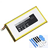 "P706T Laptop Battery for Dell Venue 8 T02D 3830 8"" Tablet Venue 7"" 16 GB Tablet 0CJP38 3.7V 15.17Wh with Tools"
