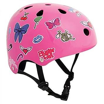SFR monopatín / patinete / línea / BMX / patín casco - rosa ...