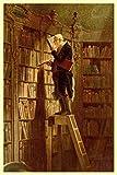 Carl Spitzweg The Bookworm Poster 12x18