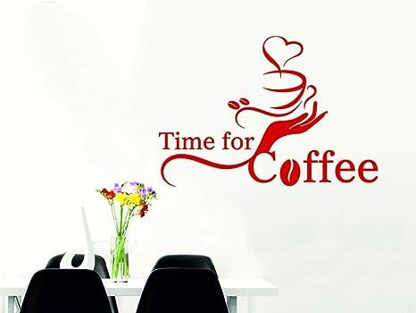 GRAZDesign Wandtattoos Küche Esszimmer Time for Coffee ...