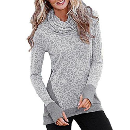Women T Shirt,Neartime Loose Long Sleeve Pullover Casual Tops (XXXL)
