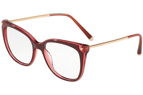 Dolce & Gabbana 0DG 3294 3190 54 Gafas de Sol, Rosa (Top ...