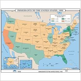 Amazon.com: Immigration to the Us (U.S. History Wall Maps ...