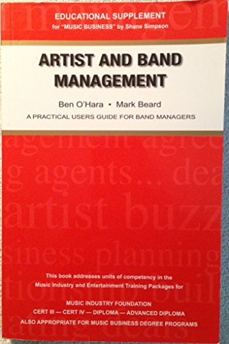 Artist and Band Management ( Practical Users Guide for Managers ) thumbnail