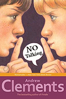 No Talking by [Clements, Andrew]