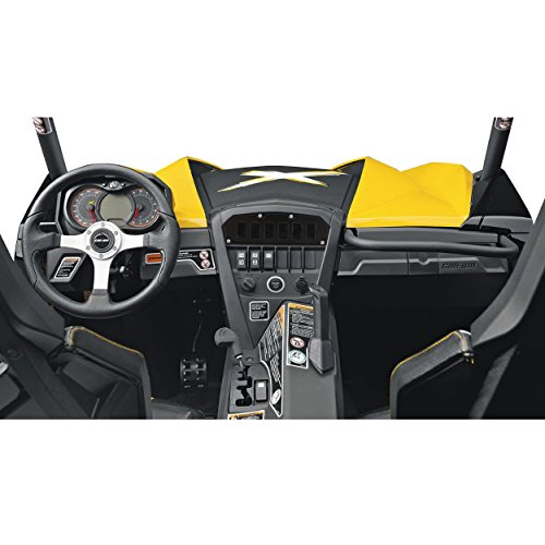 STV Motorsports Custom Switch Dash Panel for Can Am Maverick (no switches included) (6, Black) by STVMotorsports (Image #2)