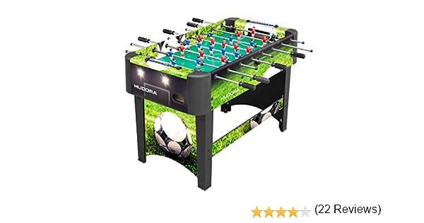 Hudora Glasgow 71451 - Futbolín, Color Verde: Amazon.es: Deportes ...