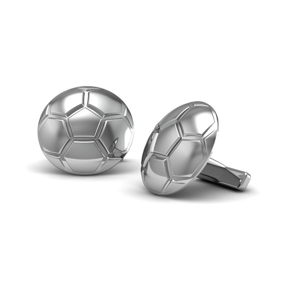 The Best .925 Sterling Silver Sports, Soccer Ball, Cufflinks
