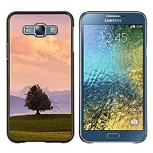 Stuss Case / Funda Carcasa protectora - Minimalista del paisaje del verano naturaleza Cielo - Samsung Galaxy E7 E700