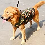 Goliton® Big dogs camouflage warm winter coat