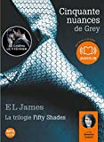 cinquante nuances de grey livre audio 2 cd mp3 french edition french version 50 shades of grey