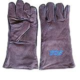 Blue Hawk Brown Welding Gloves SGY-WELD6