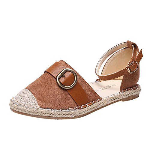 - Corriee 2019 Most Wished Lady Summer Holiday Sandals Comfy Strap Buckle Shoes Womens Espadrilles Khaki