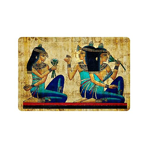 236l-x-157w-egyptian-girl-art-painting-non-woven-fabric-top-doormatindoor-outdoor-floor-mat
