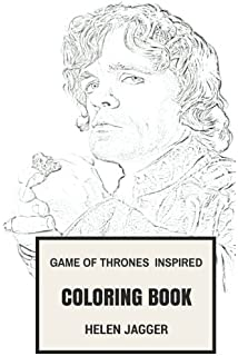 Game Of Thrones Inspired Coloring Book American Fantasy Drama And George R Martin Books
