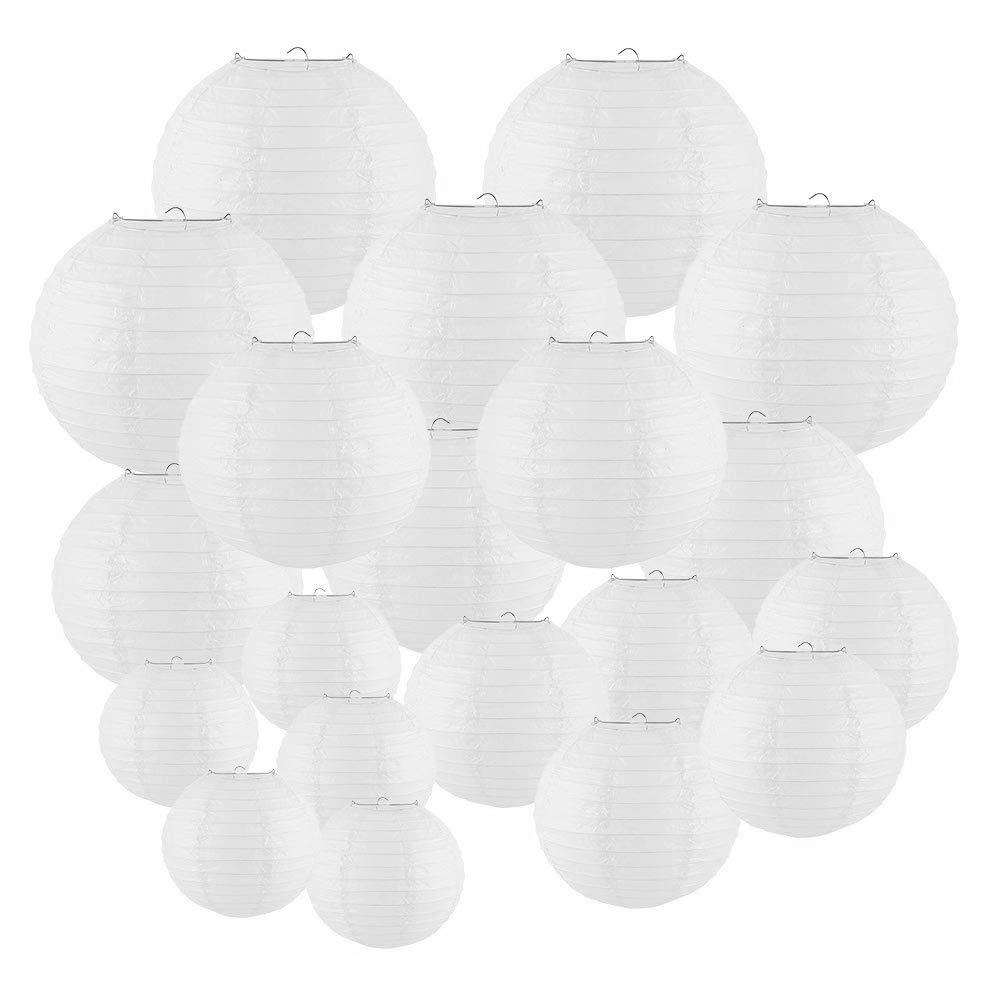 20PCS Round Paper Lanterns 6
