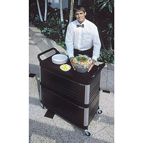 Rubbermaid Cart Open sided 40 5/8''L x 20''W x 37 7/8''H Off White by Rubbermaid Commercial Products