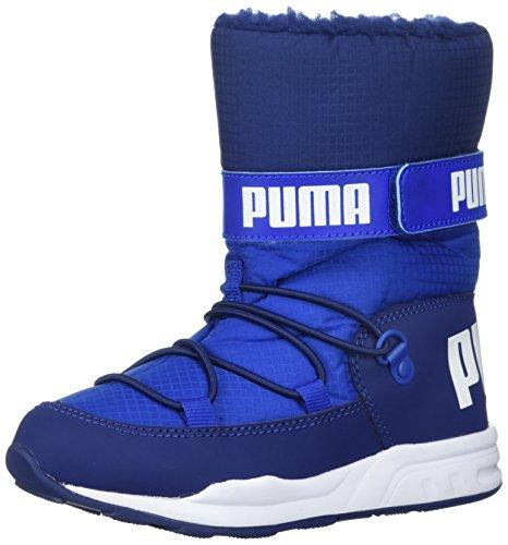 PUMA Unisex-Kids Trinomic Boot Sneaker, Lapis Blue-Blue Depths, 11 M US Little Kid