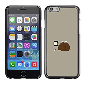 All Phone Most Case / Oferta Especial Duro Teléfono Inteligente PC Cáscara Funda Cubierta de proteccion Caso / Hard Case Apple Iphone 6 Plus 5.5 // Funny Rainbow Clown