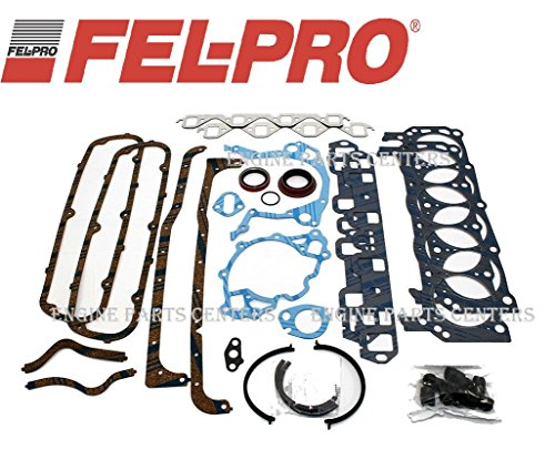 Fel Pro 260-1126 Overhaul Rebuild Gasket Set Kit compatible with Small Block Ford 351W SBF 75-83 (Ford -