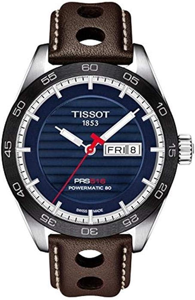Tissot PRS 516 Automatic Blue Dial Men s Watch T100.430.16.041.00