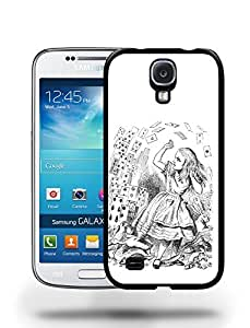 Vintage Alice in Wonderland Sketch Phone Case Cover Designs for Samsung Galaxy S4