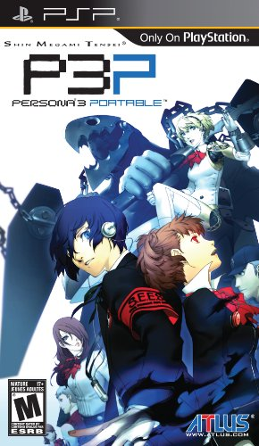 Shin Megami Tensei: Persona 3 Portable - Sony PSP (Highest Rated Portable Cd Players)