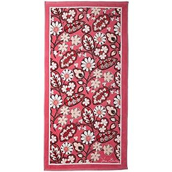 Vera Bradley Cotton Blush Pink Multicolored Beach Towel