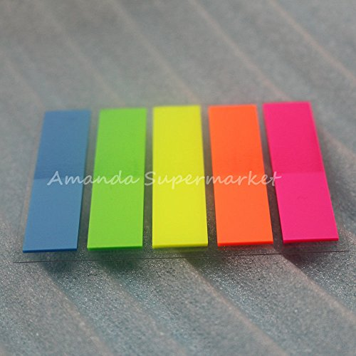 Sticky Notes Useful Memo Pad Bookmark Index Post it Flag Tab Sticker 1000pcs