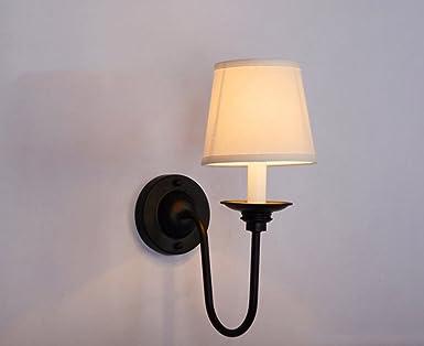 Hjhy miroir front light campagne américaine miroir de fer front light chambre lit décoration