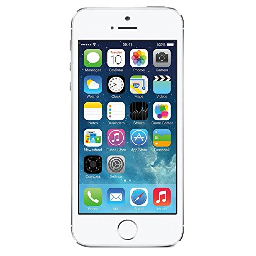 Apple iPhone 5S 16GB GSM Unlocked, Silver (Renewed)