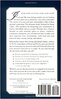 devotions for dating couples building a foundation Devotions for dating couples: building a foundation for spiritual intimacy - ebook written by ben young, samuel adams read this book using google play books app on your pc, android, ios.