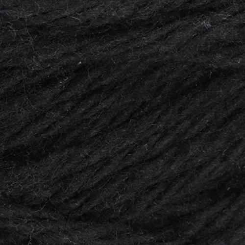Lily Sugar'n Cream Cotton Cone Yarn, 14 oz, Black , 1 Cone by Lily (Image #1)