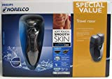 Philips Norelco Shaver 6500 Wet & dry electric shaver 1160X/40KH Series 6000 with Travel Trimmer