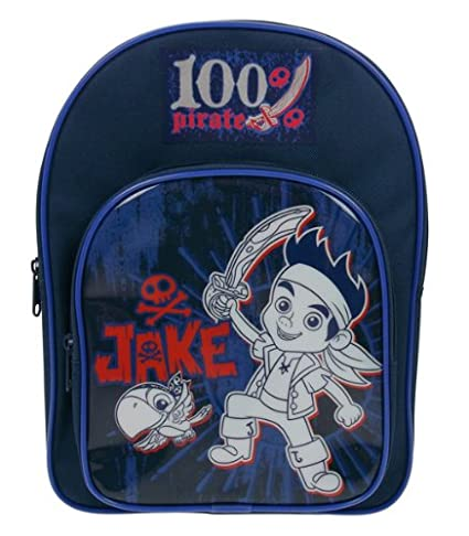 Disney Rucksack, Motiv aus Jake und die Nimmerland Piraten