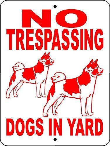 - Dozili Metal Sign Akita Dog Sign Aluminum Guard Dog Sign Akita Dog Decal Dog Sign Ntakita